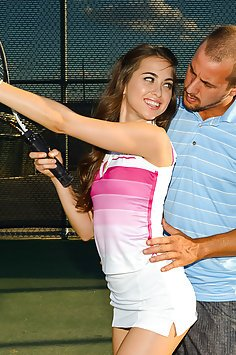 Tennis Lessons Love Pussy