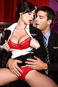 Kendra Lust Stewardess and Call Girl