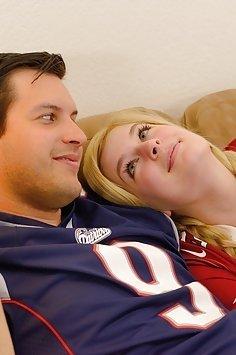 Danielle sex during The Super Bowl