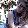 Amber hahn and the 4th Of July - image