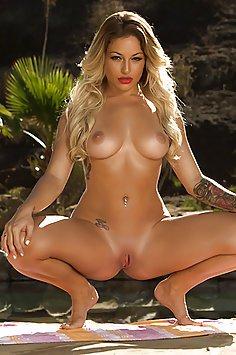 Kissa Sins Sexy Outdoor Hardcore