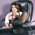 Eva Angelina Gets Fucked By The Boss - image