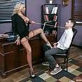 Headmistress Fucks Student In Shocking After Hours Affair - image