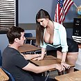 Brooklyn Chase Is the New Busty Teacher - image