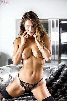 Stunning Babe Eva Lovia Alone and Horny