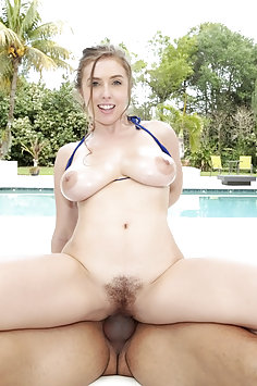 Busty Lena Paul Fucking Outdoors