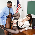 Teacher Gets Fucked By a Big Black Cock - image