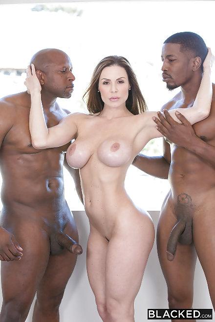Ebony Threesome Anal Bbc