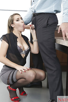 Kimber Lee Is the Office Slut