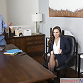 Abigail Mac Office Fuck - image