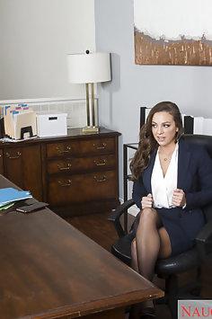 Abigail Mac Office Fuck