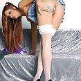 Sexy Schoolgirl Jayden Cole - image