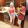 Tiffany Watson Bangs Her Step Brother - image