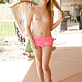 Flirty Flatty Hannah Hays Spreads Her Legs - image