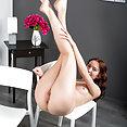 Latvian Flatty Gets Naked - image