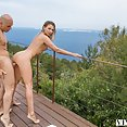 Babe sitting In Ibiza - image