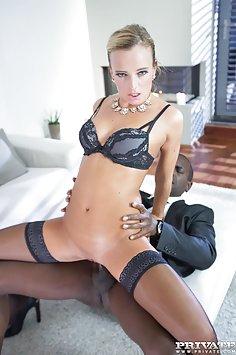 Victoria Pure interracial anal creampie