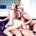 Alessandra Jane and Sienna Day anal trio - image