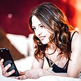 Flatty Rachel Adjani takes a facial interracial anal - image