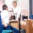 Sienna Day fucks her boss in the office - image