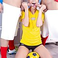Alexis Crystal, a sexy referee addicted to DP - image