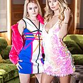 Natalia Starr and Scarlett Knight go lesbian - image