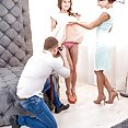 Evelina Darling and Kate Rich Sexy threesome - image