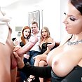 Party Time with 3 Cock Loving Babes - image