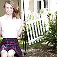 Kristy May Sexy Little Schoolgirl - image