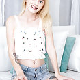 Jean Shorts and Tiny Tits - image