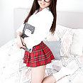 Lulu Chu Sexy Asian Schoolgirl - image