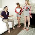 Step Sibling Valentines Day Fuck - image