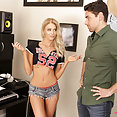 Step Daughter Distracting Daddy - image