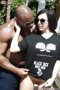 Whitney Wright Wants His Black Cock Everywhere