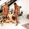 Tina Kay Black Cock In Every Hole - image