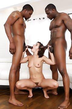 Adriana Chechik Black Cock Double Penetration
